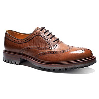 Tan brogues - ultra-smart with toning jacket, kilt or sweater.