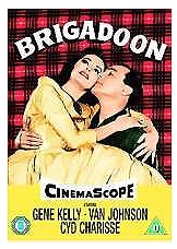 DVD cover for the 1954 film Brigadoon.
