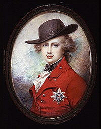George IV in 1780 -82