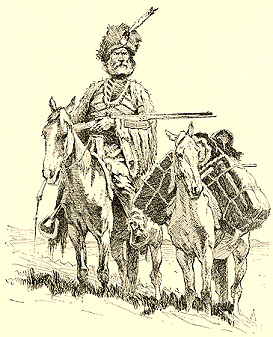 An early fur trapper.