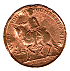 1746 - Battle of Culloden. Copper version (Obverse)