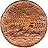 1746 - Battle of Culloden. Copper version (Reverse)