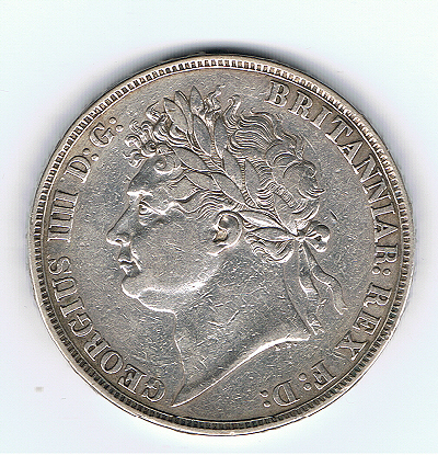 Silver Medallion celebrating George IV's 1822 visit to Edinburgh