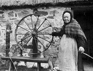 The Muckle wheel in action.