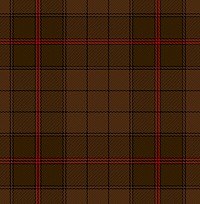 The Ulster tartan after about 400 years in an Irish bog.