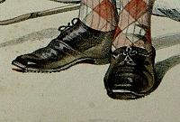Victorian men's brogues.