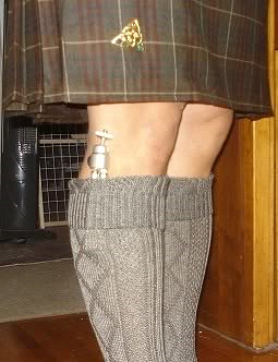 Kilt being worn at the right height