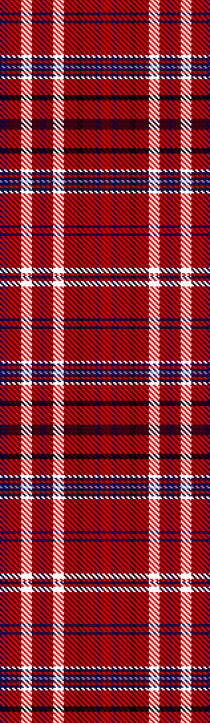 The sophisticated six-colour tartan from Qizilchoqa.