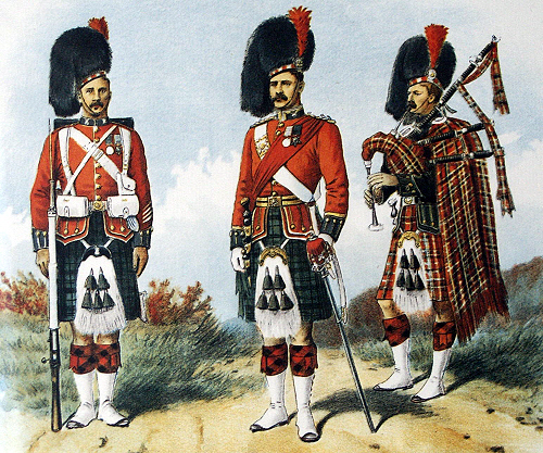 a history of the black watches a famous scottish army command The scottish highland regiments  though it was a tragic loss for the british army, the black watch served with distinction  a history of the scottish clans by .