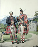 M27 - Menzies Htg (Green) & Menzies Dress. Alexander & James Menzies. Castle Menzie, Strath Tay, Perthshire.