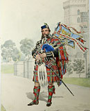 M3 - Royal Stewart William Ross, Her Majesty's Piper. Windsor Castle.