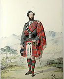 M6 - MacDonald of Sleat. Archibald Fraser MacDonald, His Royal Highness The Prince of Wales' Jager. Corrie of Loch-na-Gar.