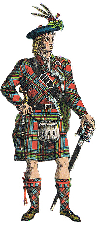 A Highland Cheif from Logan;s Scottish gael publication