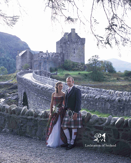 Scottish Weddings In Front Of Castle